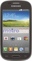 MetroPCS - Samsung Galaxy Light 4G No-Contract Cell Phone - Black