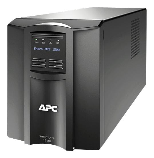 APC - Smart-UPS 1440VA Battery Back-Up System - Black