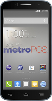 MetroPCS - Alcatel Fierce II 4G No-Contract Cell Phone - Black