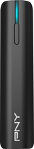PNY - PowerPack T2200 USB External Battery - Black