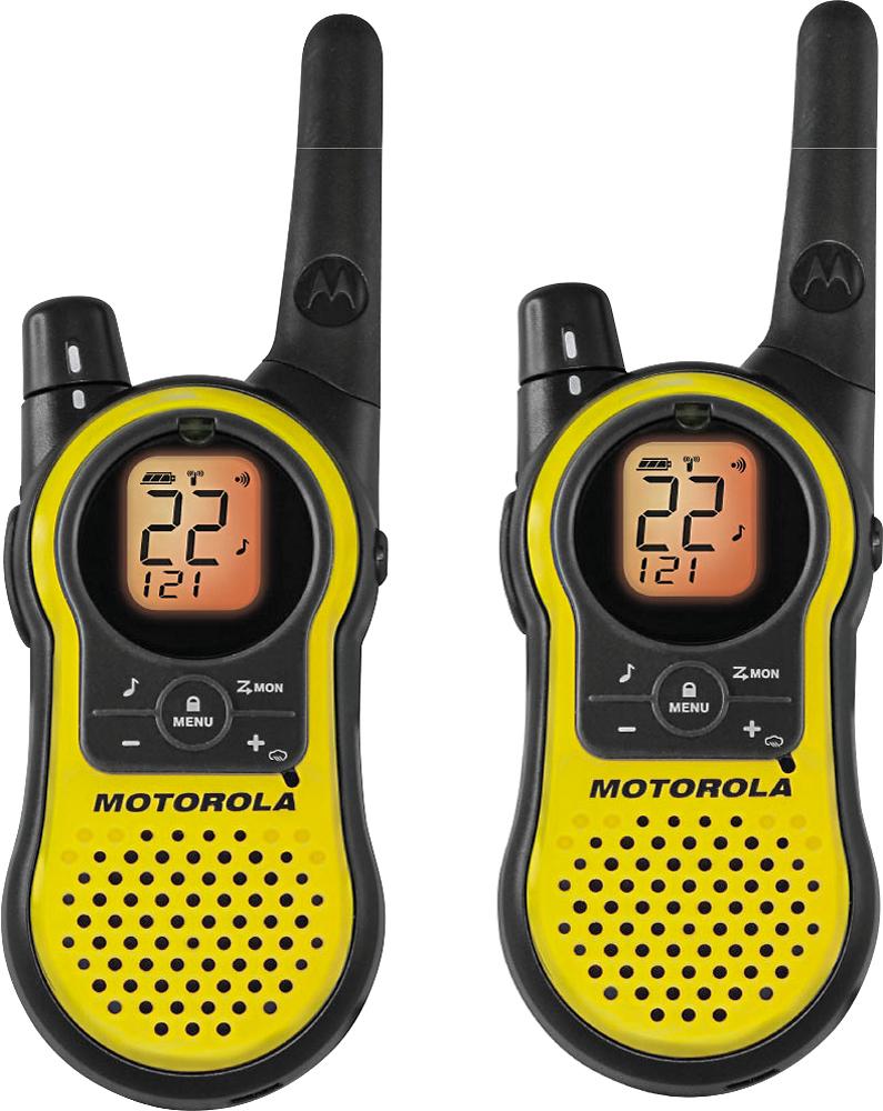 Motorola - Talkabout 2-way Radio - Yellow