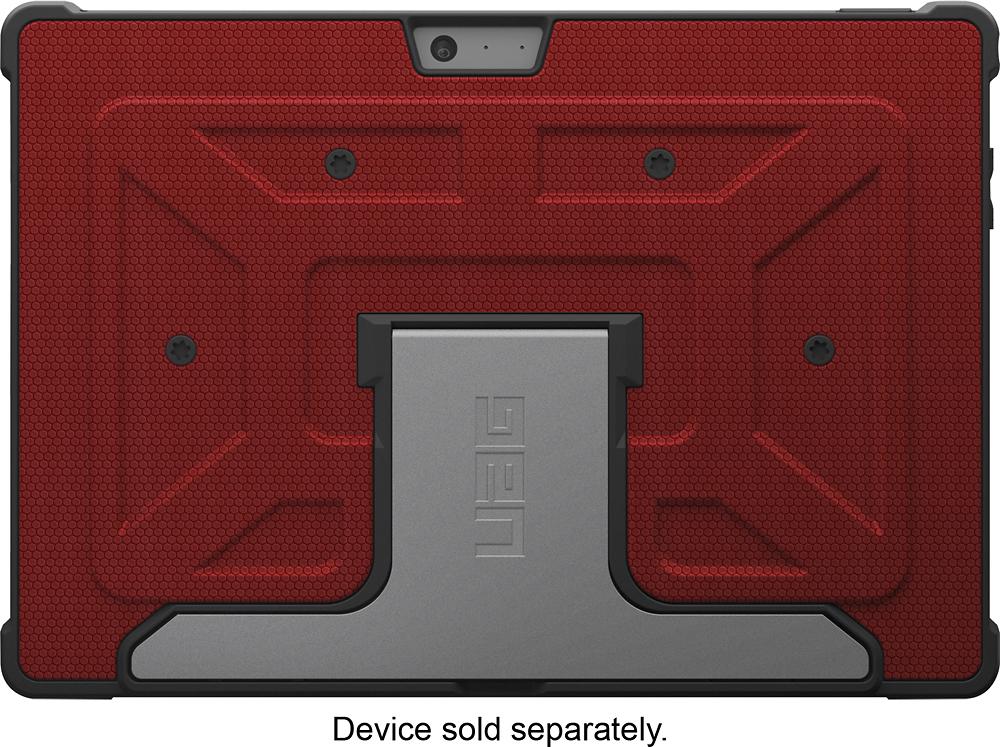 Urban Armor Gear - Folio Case for Microsoft Surface Pro 3 - Red/Black