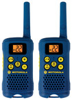Motorola - Talkabout 16-Mile 22-Channel FRS 2-Way Radios (Pair) - Light Blue