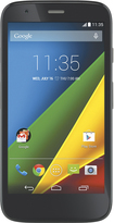 Motorola - Moto G 4G with 8GB Memory Cell Phone - Black (AT&T)