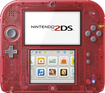 Nintendo - 2DS - Crystal Red