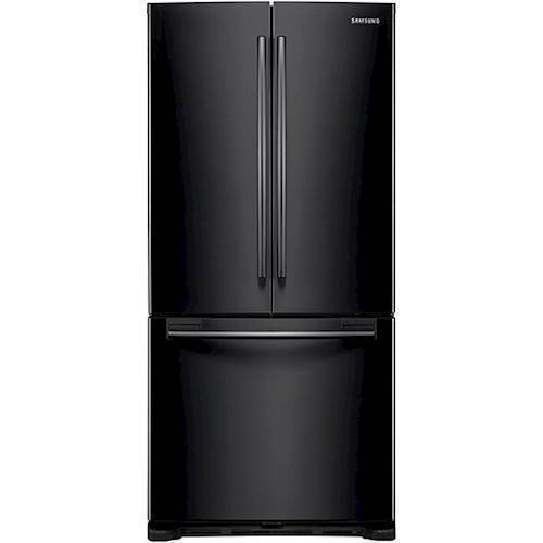 Samsung - 19.5 Cu. Ft. French Door Refrigerator - Black