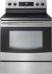Samsung - 5.9 Cu. Ft. Self-Cleaning Freestanding Electric Range - Stainless-Steel