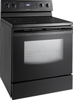 Samsung - 5.9 Cu. Ft. Self-Cleaning Freestanding Electric Range - Black