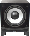 "Energy - 10"" 400-Watt Powered Subwoofer - Black Ash"