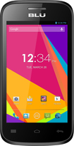 Blu - Dash Jr 4.0 K Cell Phone (Unlocked) - Black