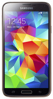 Samsung - Galaxy S 5 DUOS 4G Cell Phone (Unlocked) - Gold