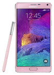 Samsung - Galaxy Note 4 4G Cell Phone (Unlocked) - Pink