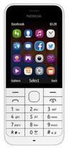 Nokia - 220 Cell Phone (Unlocked) - White