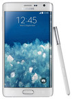 Samsung - Galaxy Note Edge 4G Cell Phone (Unlocked) - Frost White