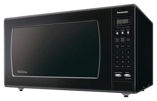 Panasonic - 2.2 Cu. Ft. Full-Size Microwave - Black
