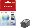 Canon - ChromaLife 211 Ink Cartridge for Select Canon Printers - Cyan, Magenta, Yellow