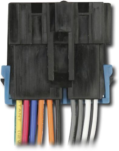 9806574_sa metra wiring harness for most 1988 2005 gm vehicles black ibr  at bayanpartner.co