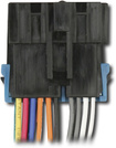 Metra - Wiring Harness for Most 1988-2005 GM Vehicles - Black