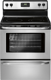 "Frigidaire - 30"" Freestanding Electric Range - Stainless-Steel"