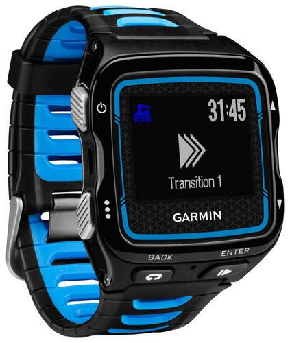 Garmin - Forerunner 920XT Multisport GPS Watch - Black/Blue