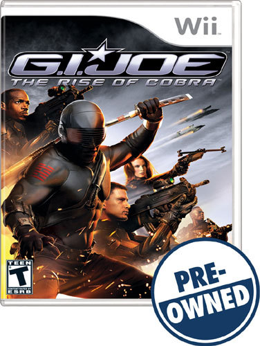 PRE-OWNED WII - G.I. JOE: THE RISE OF C 9826047 9826047