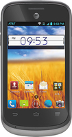 AT&T GoPhone - ZTE Avail 2 3G No-Contract Cell Phone - Black