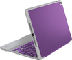 ZAGG - ZAGGfolio Bluetooth Keyboard Case for Apple® iPad® Air 2 - Orchid Purple