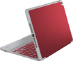 ZAGG - ZAGGfolio Bluetooth Keyboard Case for Apple® iPad® Air 2 - Red