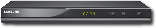 Samsung - DVD Player with HD Upconversion - Black