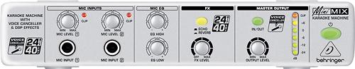 Behringer - Minimix Karaoke Processor