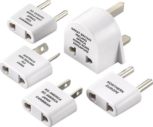 Dynex™ - International Adapter Plug Set (5-Pack)