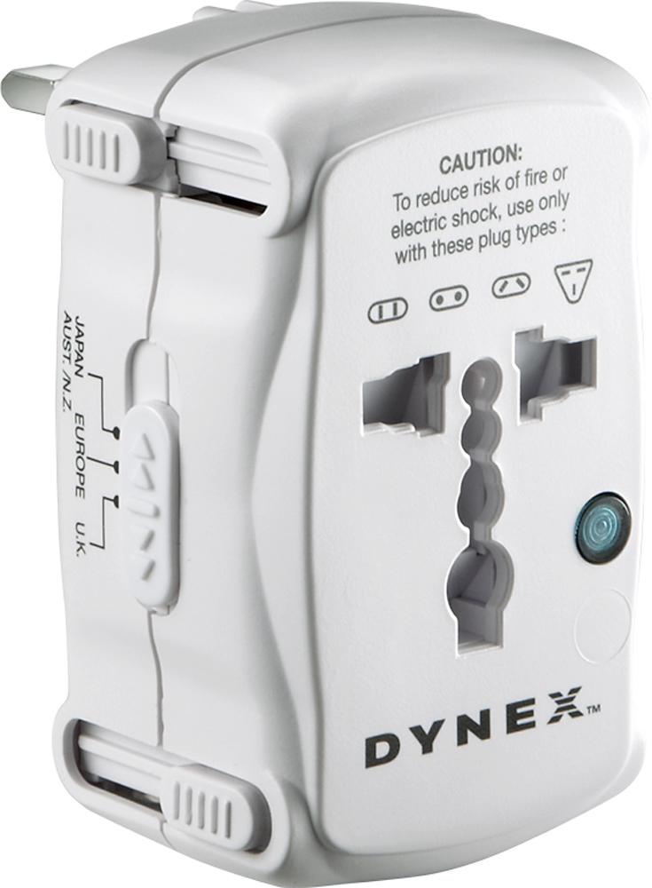 Dynex™ - Travel Adapter Plug
