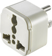 Dynex™ - Grounded Adapter Plug for North and South America