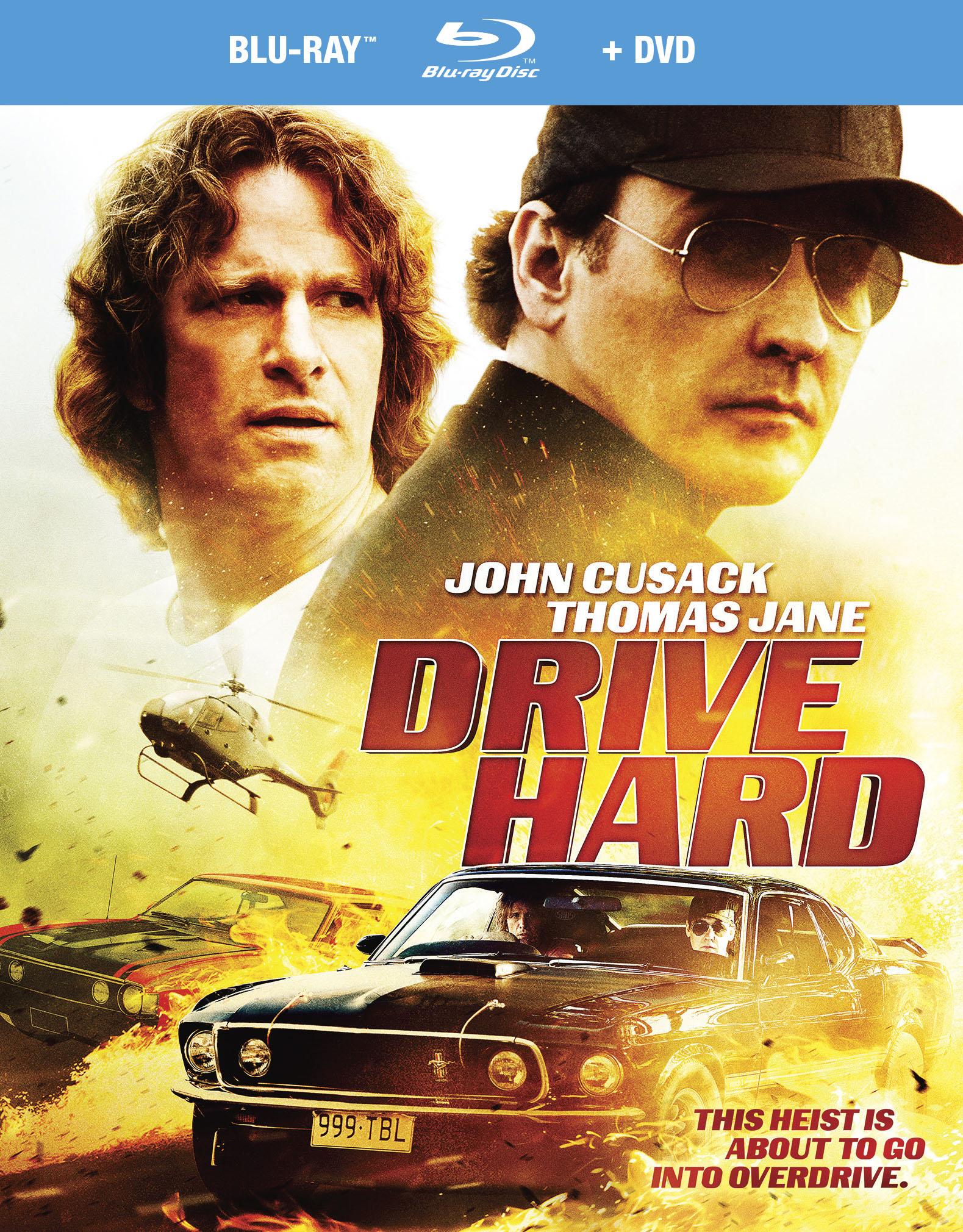 Drive Hard [2 Discs] [dvd/blu-ray] 9855123