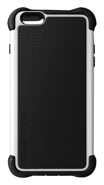 Ballistic - Tough Jacket Maxx Case for Apple® iPhone® 6 Plus - Black/White