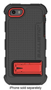 Ballistic - Hard Core Series Case for Apple® iPhone® 5 and 5s - Red/Black
