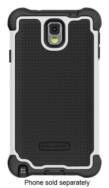 Ballistic - Tough Jacket Maxx Case for Samsung Galaxy Note 3 Cell Phones - Black/White