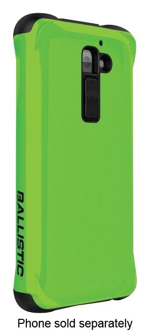 Ballistic - Urbanite Case for LG G2 Cell Phones - Luminescent Green/Black