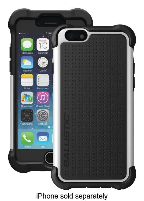 Ballistic - Tough Jacket Maxx Case for Apple® iPhone® 6 - Black/White