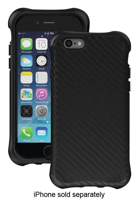Ballistic - Urbanite Case for Apple® iPhone® 6 - Black Carbon Fiber