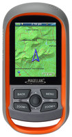 "Magellan - eXplorist 310 National Geographic TOPO! Edition 2.2"" GPS with Lifetime Map Updates - Orange/Gray"