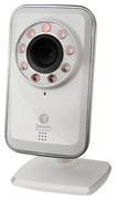 Swann - Indoor/Outdoor Wireless Internet Security Camera - White