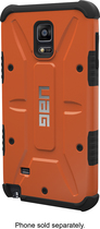 Urban Armor Gear - Composite Case For Samsung Galaxy Note 4 Cell Phones - Rust/black ShopFest Money Saver