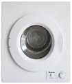 Magic Chef - 2.6 Cu. Ft. 5-Cycle Compact Electric Dryer - White
