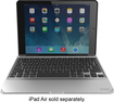 ZAGG - Folio Slim Keyboard Case for Apple® iPad® Air 2 - Black