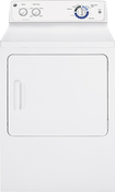 GE - 7.0 Cu. Ft. 6-Cycle Electric Dryer - White