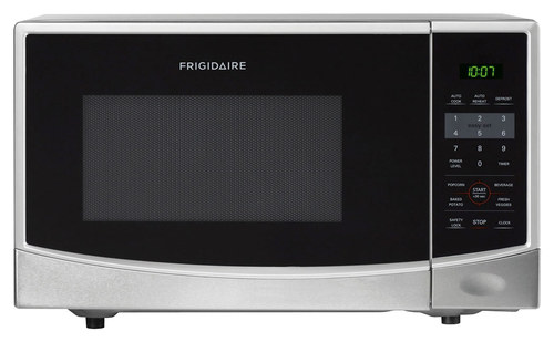 Frigidaire - 0.9 Cu. Ft. Compact Microwave - Stainless-Steel
