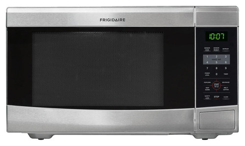 Frigidaire - 1.1 Cu. Ft. Mid-Size Microwave - Stainless Steel
