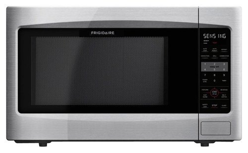 Frigidaire - 2.2 Cu. Ft. Mid-Size Microwave - Stainless Steel (Silver)