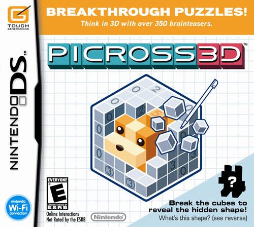 Picross 3d - Nintendo Ds